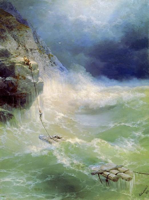 Surf 1897 143h107. Ivan Konstantinovich Aivazovsky