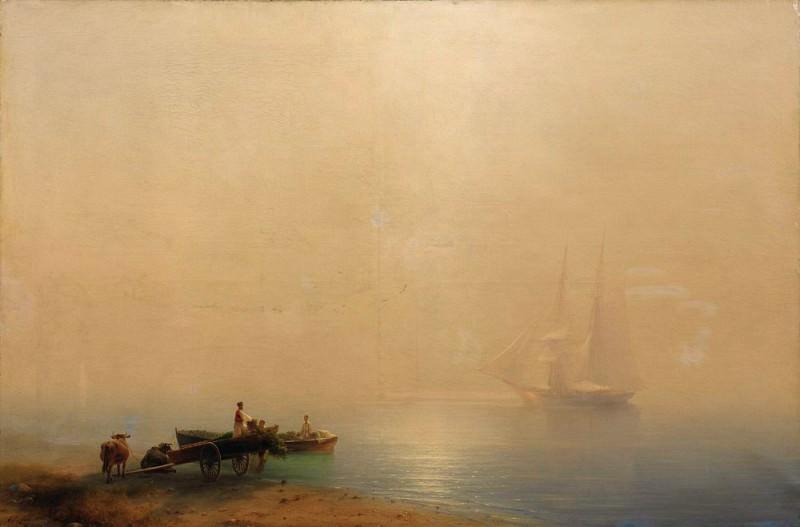 Misty Morning. Ivan Konstantinovich Aivazovsky