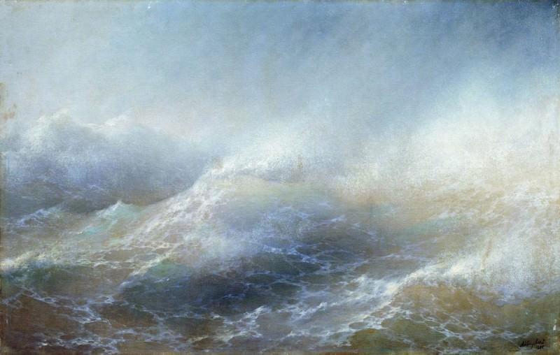 Sea view 100h155 1895. Ivan Konstantinovich Aivazovsky