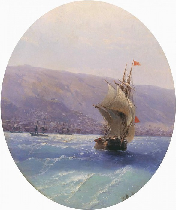 Type Crimea 1851. Ivan Konstantinovich Aivazovsky
