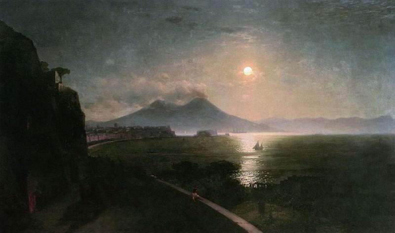 Vesuvius. Ivan Konstantinovich Aivazovsky