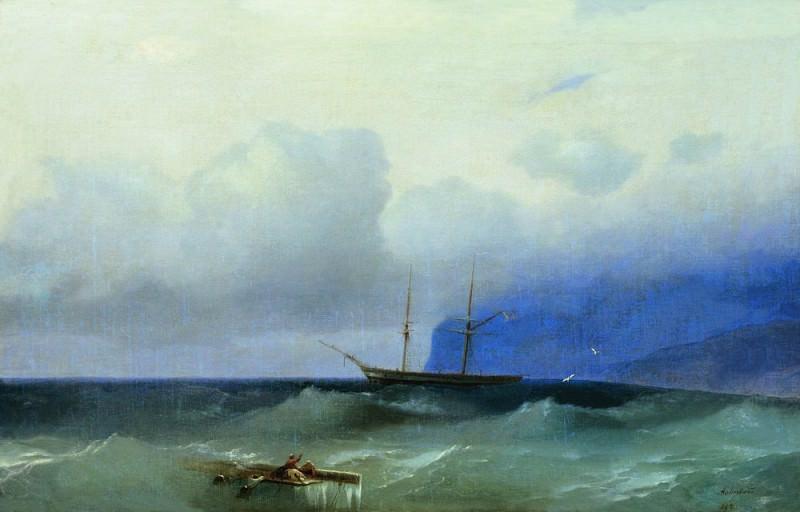 Sea 60h95. Ivan Konstantinovich Aivazovsky