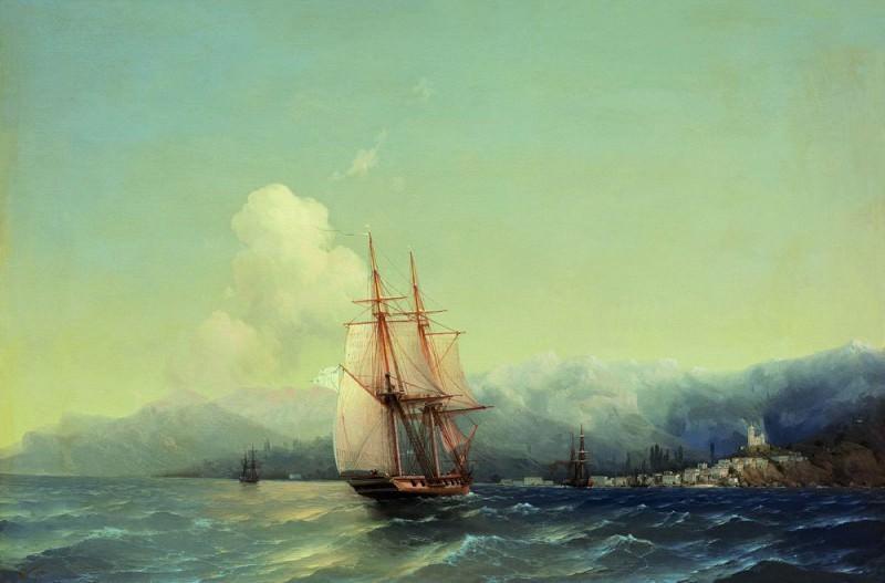 Крым 1852 58х89. Иван Константинович Айвазовский