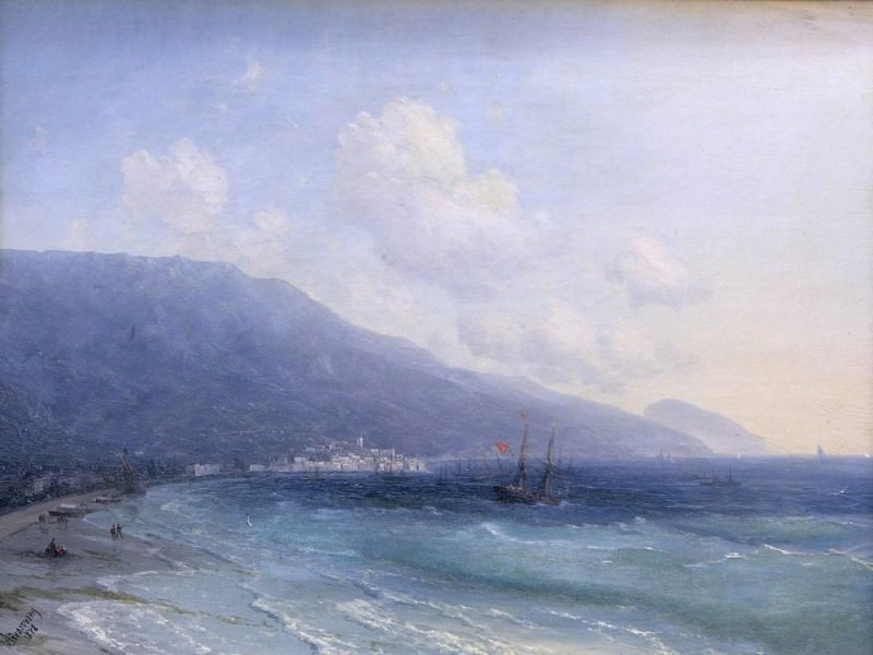 Yalta 1878. Ivan Konstantinovich Aivazovsky