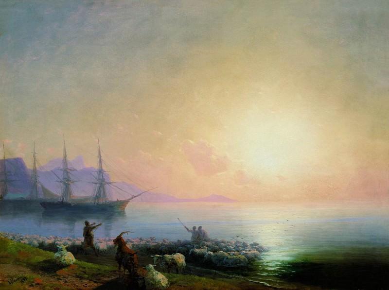 sheepdip 1877 46H62. Ivan Konstantinovich Aivazovsky
