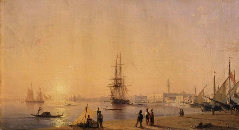 Venice 1844. Ivan Konstantinovich Aivazovsky