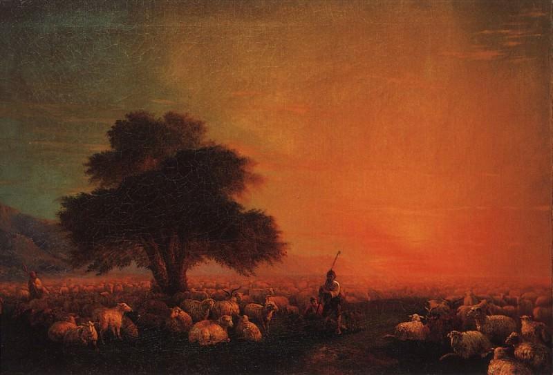 Sheep on pasture 1850 60h89, 5. Ivan Konstantinovich Aivazovsky