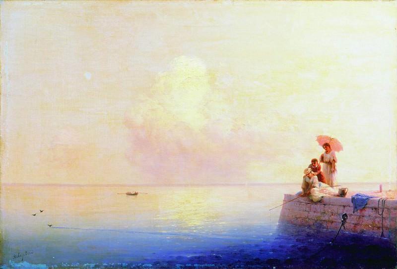Calm Sea 1879 58,5 h82, 4. Ivan Konstantinovich Aivazovsky