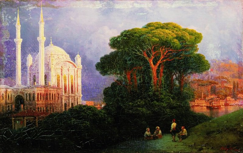 Type of Constantinople 1851 35h55, 5. Ivan Konstantinovich Aivazovsky