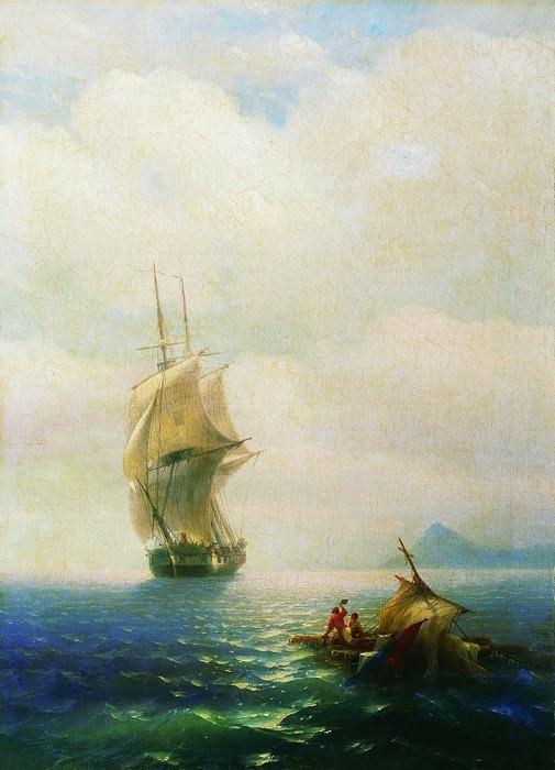After the storm 1854 91h65. Ivan Konstantinovich Aivazovsky