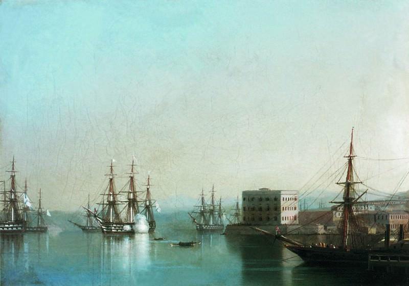 Sevastopol raid 1852 28h38, 5. Ivan Konstantinovich Aivazovsky