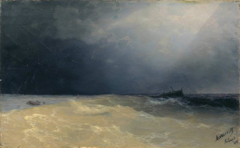 Sea 1895. Ivan Konstantinovich Aivazovsky