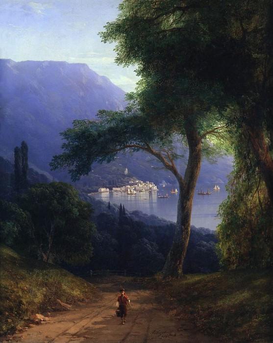 View of Livadia. Ivan Konstantinovich Aivazovsky