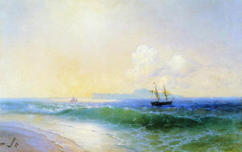 Море 1898. Иван Константинович Айвазовский