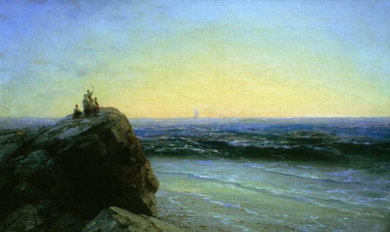 1895 Farewell 42h66. Ivan Konstantinovich Aivazovsky