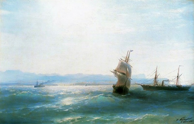 Solna. Day 1884 40h62. Ivan Konstantinovich Aivazovsky