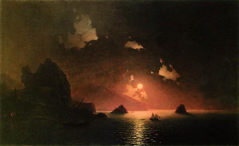 Gurzuf night 1849 121,5 h191, 5. Ivan Konstantinovich Aivazovsky
