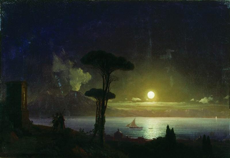 Evening 39h58. Ivan Konstantinovich Aivazovsky