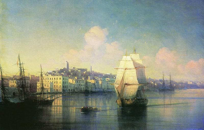 Type seaside town 1877 33,8 h44. Ivan Konstantinovich Aivazovsky