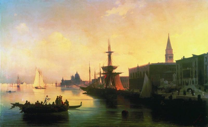 Venice 1842 116,5 h188. Ivan Konstantinovich Aivazovsky