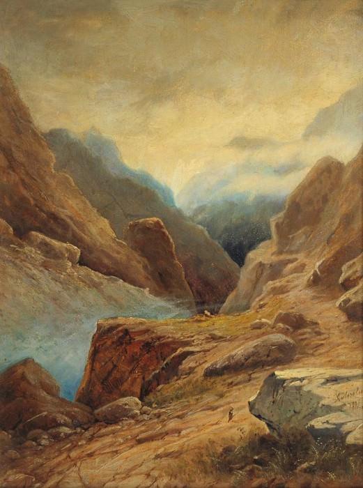 Darial Gorge 1891 35h26. Ivan Konstantinovich Aivazovsky
