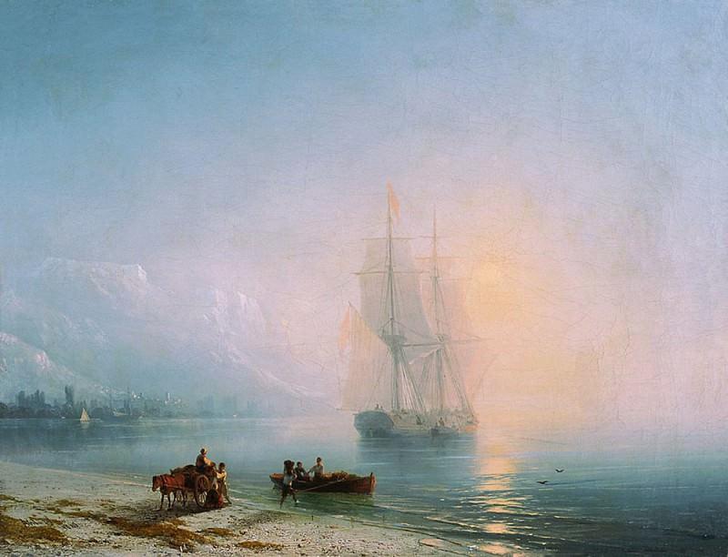 Calm Sea 1863 45h58, 5. Ivan Konstantinovich Aivazovsky