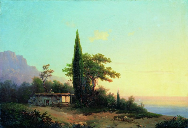 Crimean kind 46h69. Ivan Konstantinovich Aivazovsky