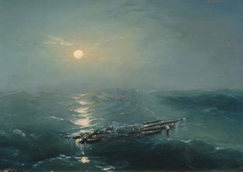 Sea at night. Ivan Konstantinovich Aivazovsky