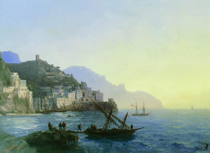 Type Amalfi 1865 23h32. Ivan Konstantinovich Aivazovsky