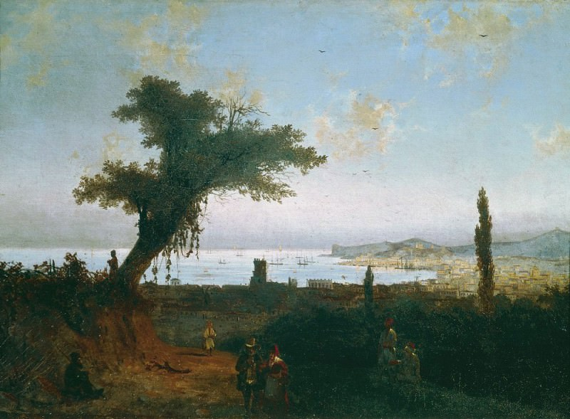 old Feodosia 1839 46. 5h56. Ivan Konstantinovich Aivazovsky
