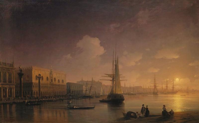 Venetian Night. Ivan Konstantinovich Aivazovsky