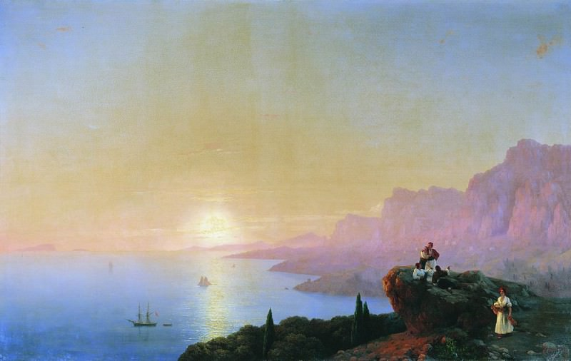 bay 120h191 1842. Ivan Konstantinovich Aivazovsky