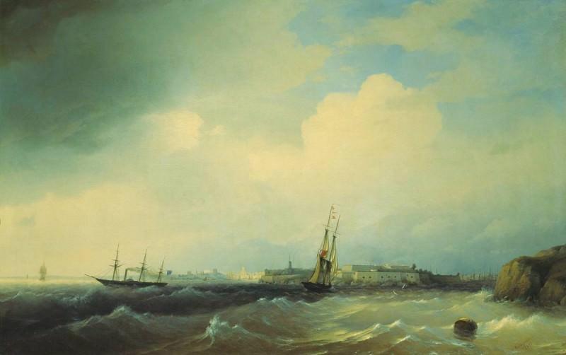 1844 Sveaborg 115h188. Ivan Konstantinovich Aivazovsky