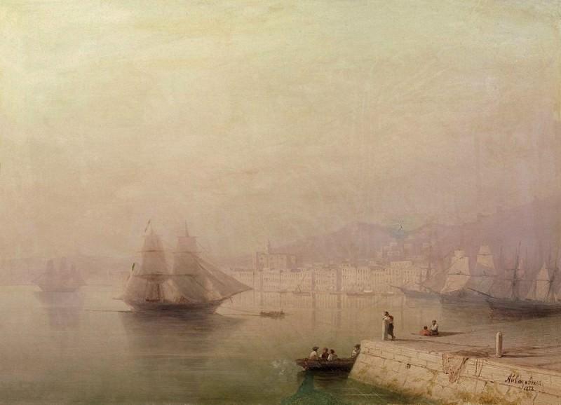 Morning. Bay 1878 33,8 x45. 5. Ivan Konstantinovich Aivazovsky