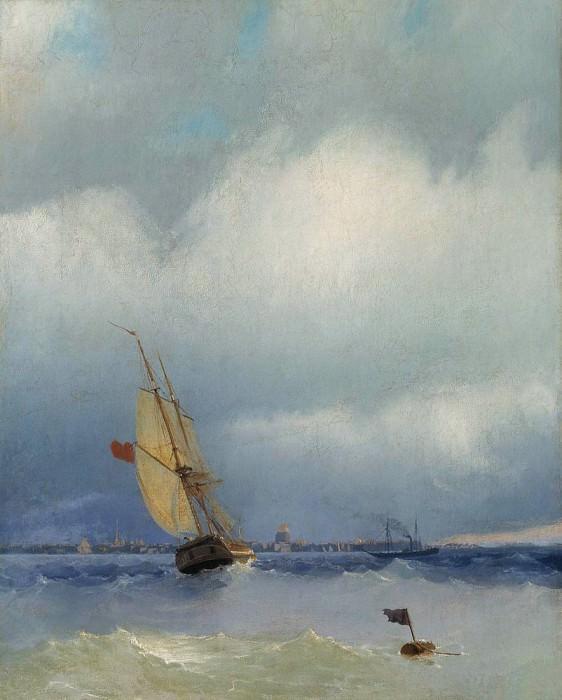 Neva 54h44. Ivan Konstantinovich Aivazovsky