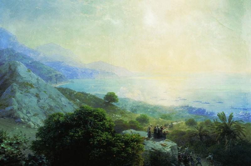 Crete 102h155 1897. Ivan Konstantinovich Aivazovsky