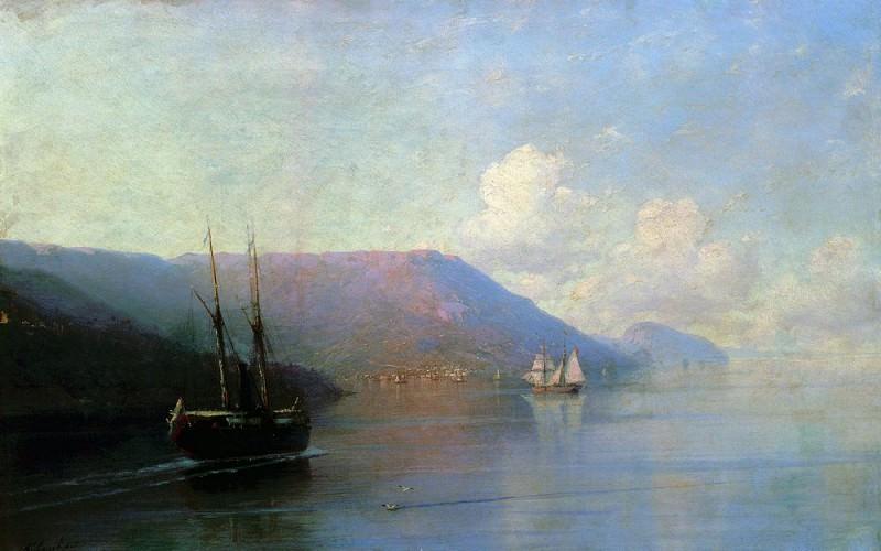 Crimean coast 1886. Ivan Konstantinovich Aivazovsky