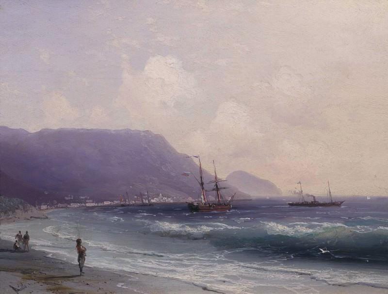 Seascape 19h24. Ivan Konstantinovich Aivazovsky