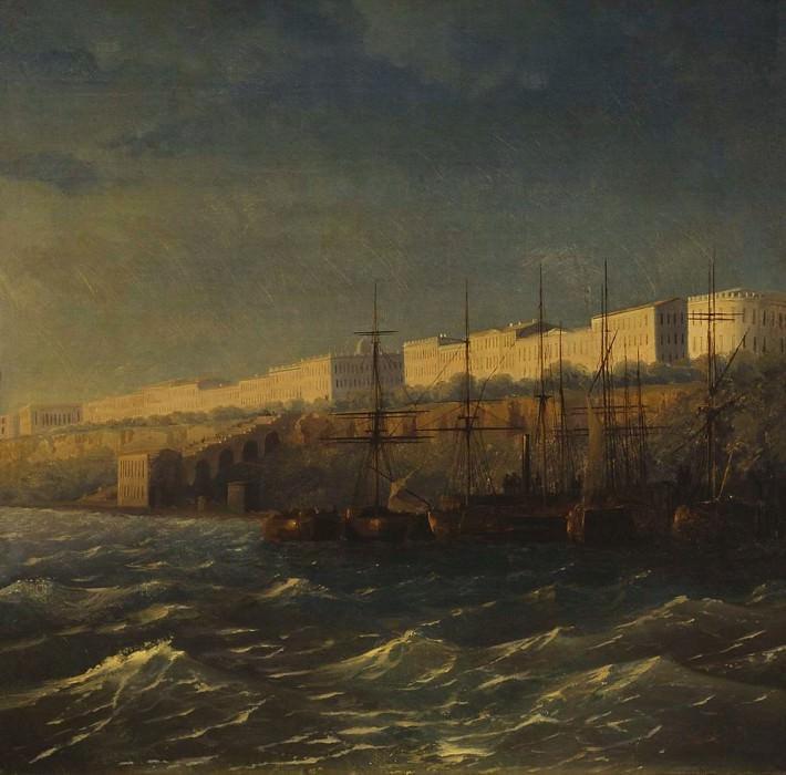 Одесса 1840. Иван Константинович Айвазовский