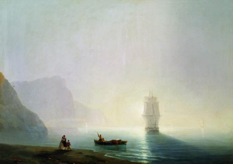 1851 Morning 81h113. Ivan Konstantinovich Aivazovsky