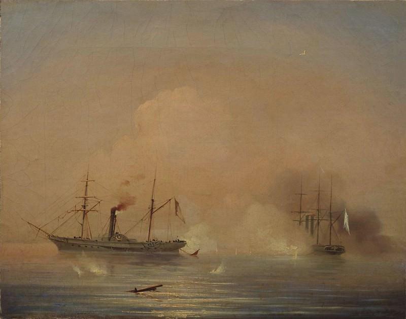 Battleship 1855 35h42. Ivan Konstantinovich Aivazovsky