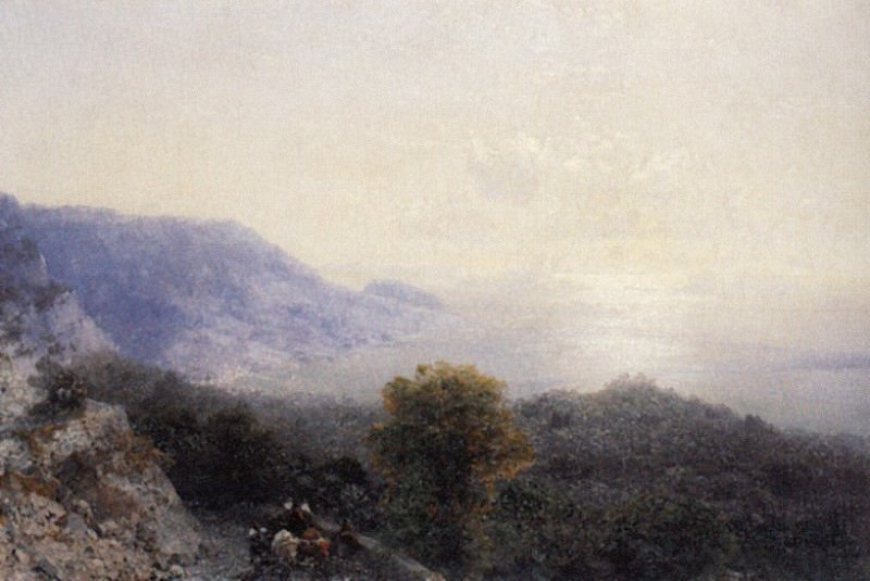 road to Ai-Petri 1894 41,5 h59, 5. Ivan Konstantinovich Aivazovsky