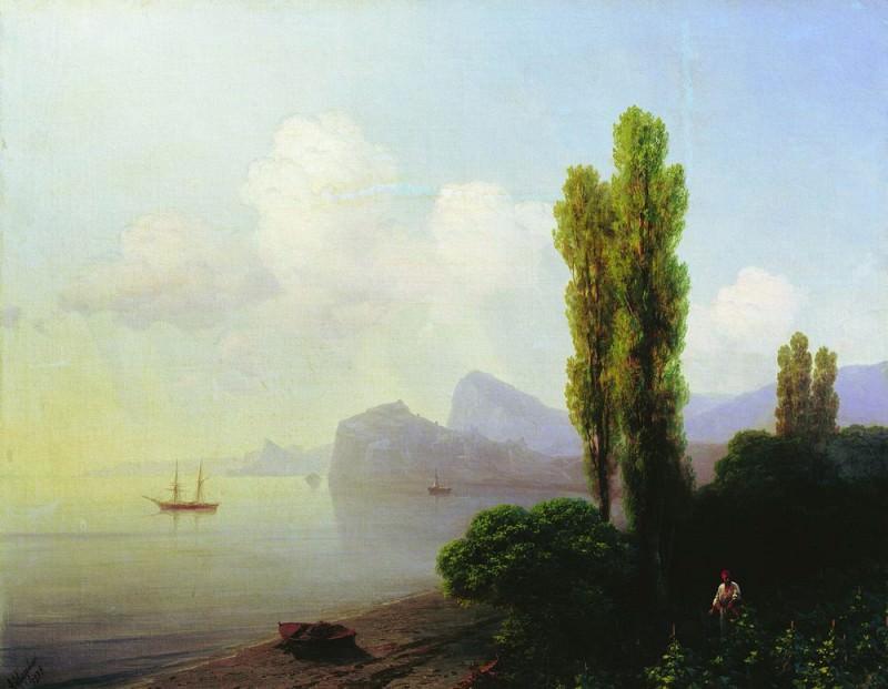 Type Sudak Bay 1879 73h94. Ivan Konstantinovich Aivazovsky
