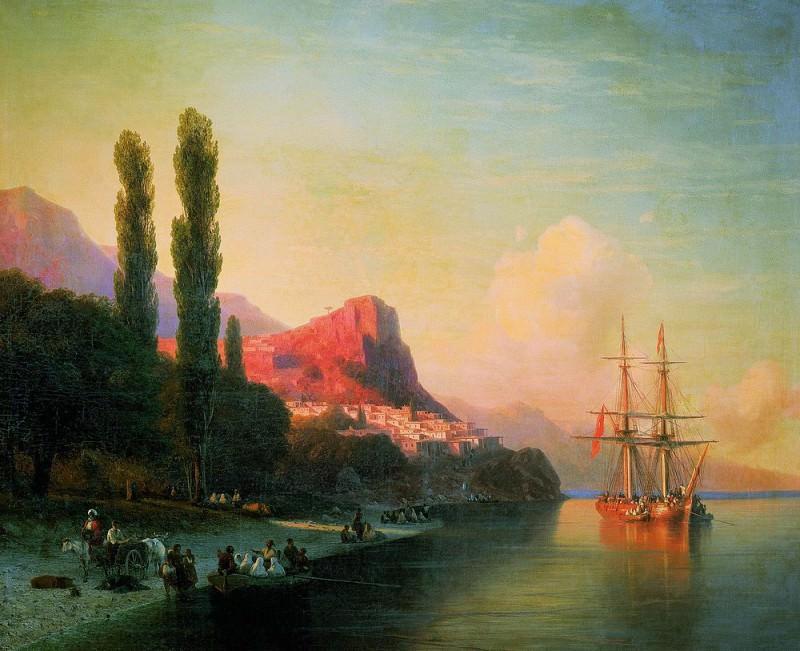 View on the Golden Horn. Ivan Konstantinovich Aivazovsky