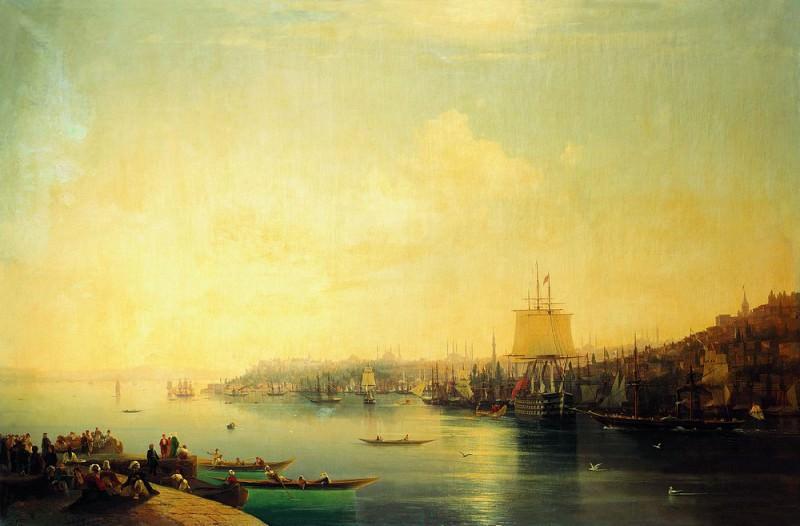 Type of Constantinople 1849 227h46, 5. Ivan Konstantinovich Aivazovsky