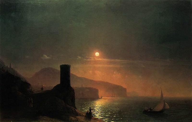 Type Vico, near Naples in 1855 95h142, 5. Ivan Konstantinovich Aivazovsky