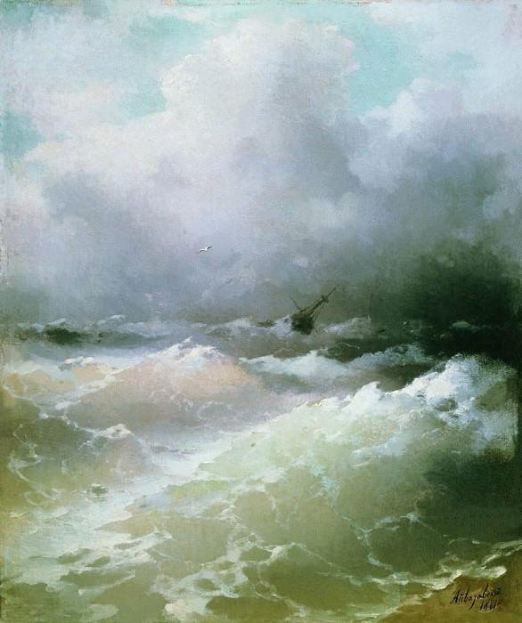 Sea 1881 49h42. Ivan Konstantinovich Aivazovsky