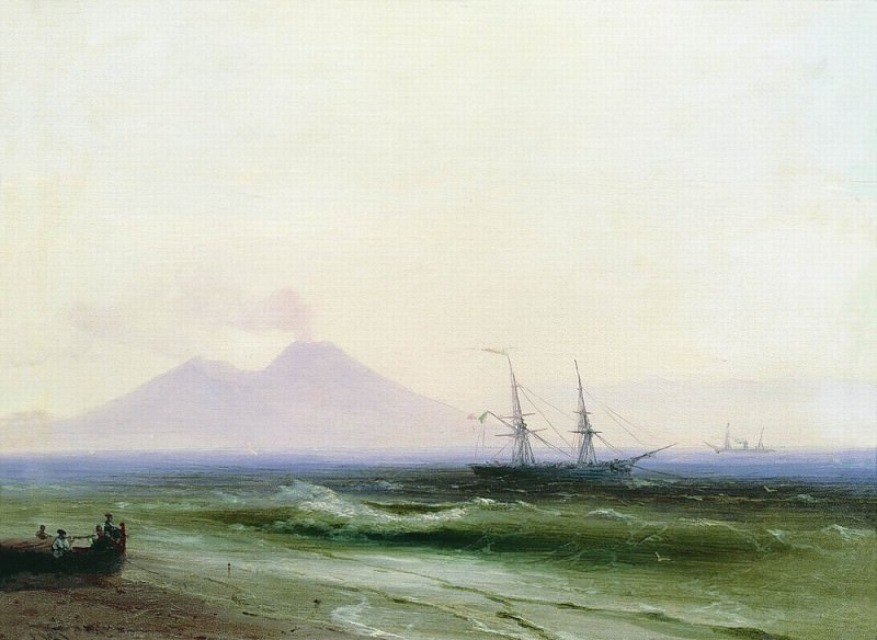 Seascape 1878 22,6 x28, 2. Ivan Konstantinovich Aivazovsky