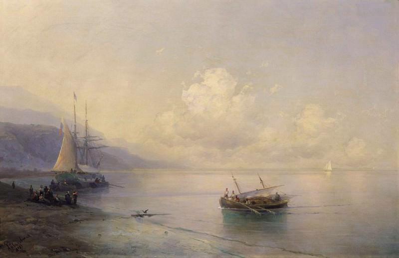 Seascape 1898. Ivan Konstantinovich Aivazovsky