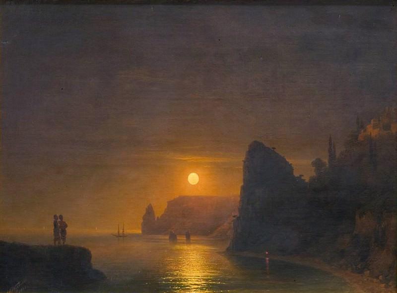 Moon Path 1886. Ivan Konstantinovich Aivazovsky